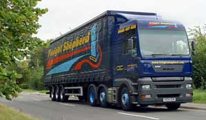 Freight Shephered UK road transport distribution